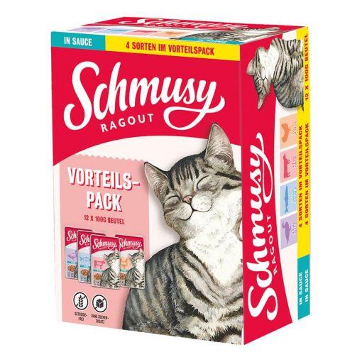 Schmusy Ragout in Sauce Vorteilspack 12x100g (Menge: 4 je Bestelleinheit)
