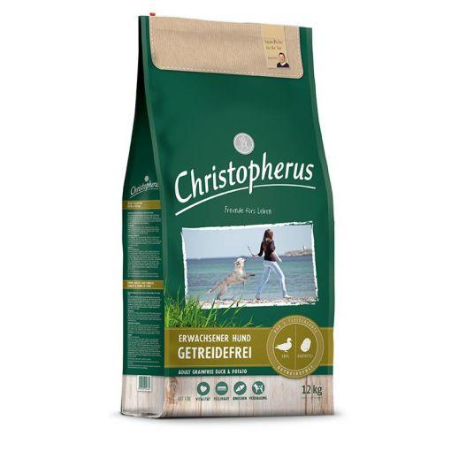 Christopherus Getreidefrei Ente & Kartoffel 12kg