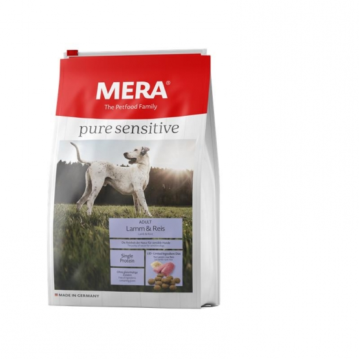 MeraDog Pure Sensitive Lamm & Reis 1kg