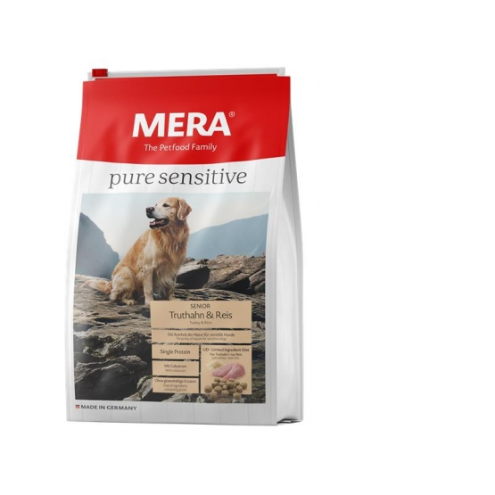 MeraDog Pure Sensitive Senior Truthahn & Reis 1kg