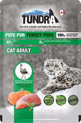 Tundra Cat PB Pute Pur 85g (Menge: 16 je Bestelleinheit)
