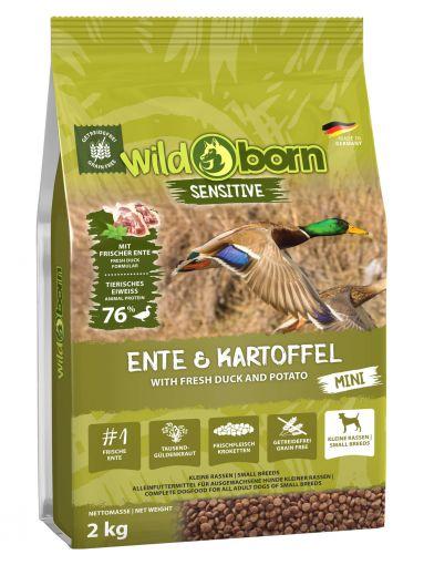 Wildborn Ente & Kartoffel MINI 2kg
