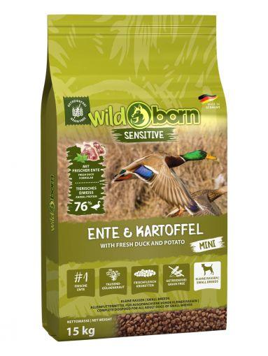 Wildborn Ente & Kartoffel MINI 15kg