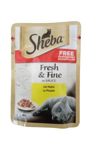 Sheba Pouch Fresh&Fine Huhn 50g