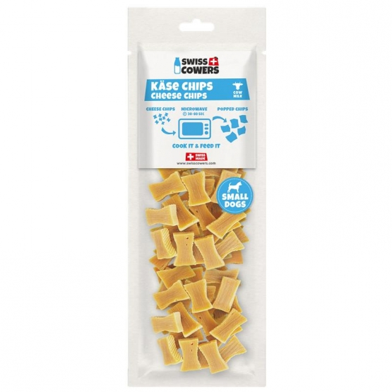 Swisscowers Small Dogs Käse Chips 100g