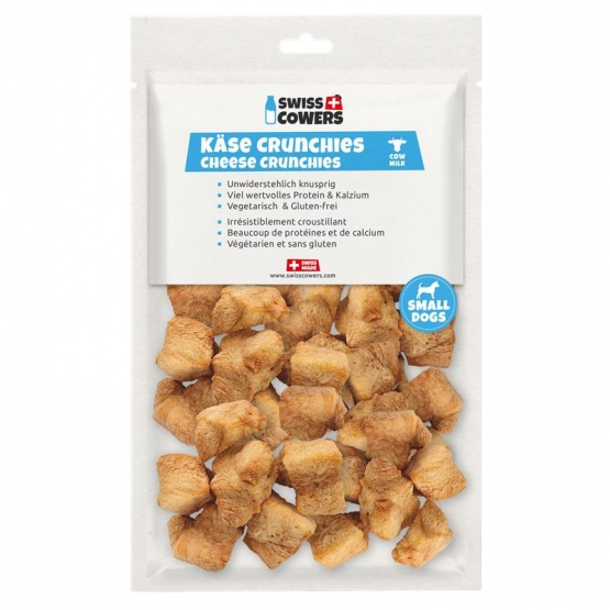 Swisscowers Small Dog Käse Chrunchies 80g