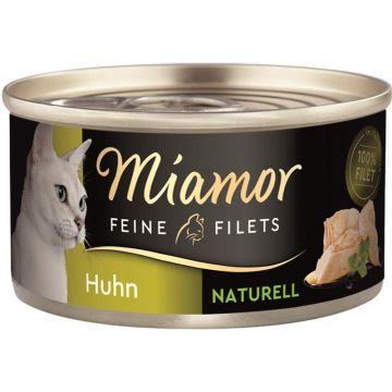 Miamor Feine Filets Naturelle Huhn pur 80g (Menge: 24 je Bestelleinheit)