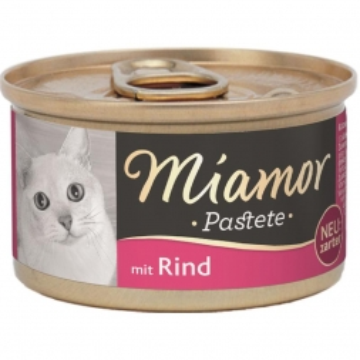 Miamor Pastete Rind 85g (Menge: 12 je Bestelleinheit)