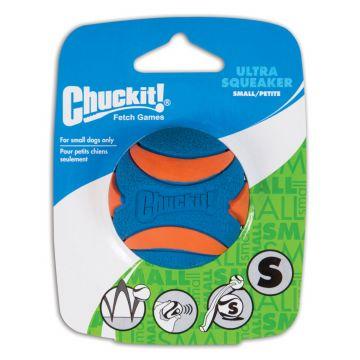 Chuckit ULTRA SQUEAKER BALL 1-PK Größe S
