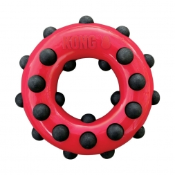 KONG Dotz Circle Large  rot