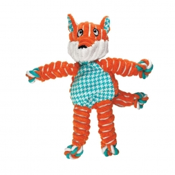 KONG Floppy Knots Fox Small/Medium, orange