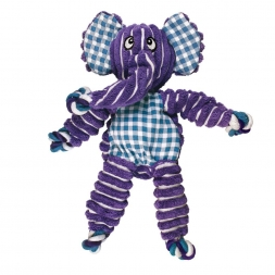 KONG Floppy Knots Elephant Medium/Large, lila