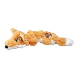 KONG Scrunch Knots Fox Small/Medium, orange