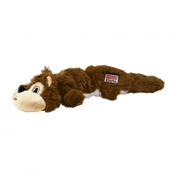 KONG Scrunch Knots Squirrel Small/Medium, braun