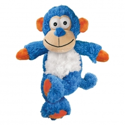 KONG Cross Knots Monkey Small/Medium, Farbe: blau