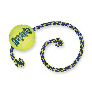 KONG SqueakAir Balls Medium, mit Seil