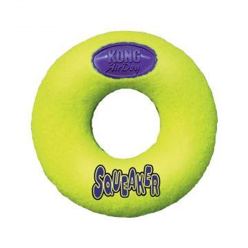 KONG Airdog Squeaker Donut, Medium