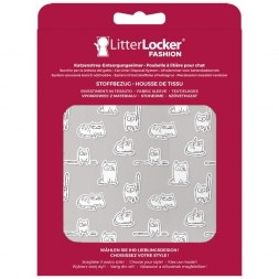 LitterLocker Fashion Stoff-Bezug Paper Cats