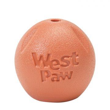 WestPaw Hundespielzeug Zogoflex Echo Rando L orange 9 cm