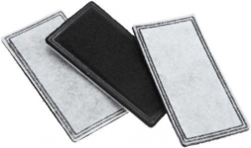 Vlieskohlefilter 3er-Set Standard