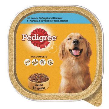 Pedigree Portionsschale Lamm & Geflügel 300g (Menge: 10 je Bestelleinheit)