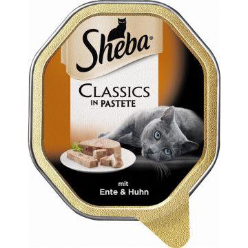 Sheba Schale Classics mit Ente & Huhn 85g (Menge: 22 je Bestelleinheit)