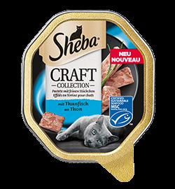 Sheba Schale Craft feine Pastete mit Thunfisch 85g (Menge: 22 je Bestelleinheit)