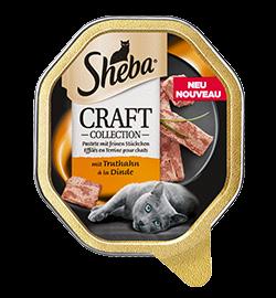 Sheba Schale Craft feine Pastete mit Truthahn 85g (Menge: 22 je Bestelleinheit)