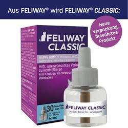 Feliway Classic 3x30 Tage Vorteilspack Nachfüllflakon 3x48 ml