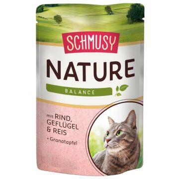 Schmusy Nature Balance FB Rind & Geflügel 100g (Menge: 24 je Bestelleinheit)