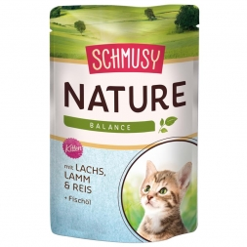 Schmusy Nature Balance FB Kitten Lachs 100g (Menge: 24 je Bestelleinheit)