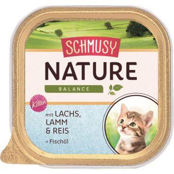 Schmusy Nature Balance FB Kitten Lachs 100g (Menge: 16 je Bestelleinheit)