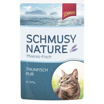 Schmusy Nature Meeres-Fisch FB Thunfisch pur 100g (Menge: 24 je Bestelleinheit)