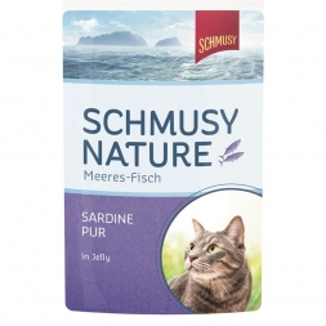 Schmusy Nature Meeres-Fisch FB Sardine pur 100g (Menge: 24 je Bestelleinheit)