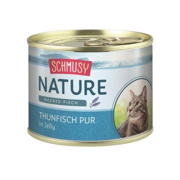 Schmusy Nature Meeres-Fisch Dose Thunfisch pur 185g  (Menge: 12 je Bestelleinheit)