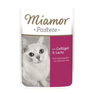 Miamor FB Pastete Geflügel & Lachs 85g  (Menge: 24 je Bestelleinheit)
