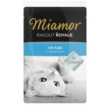 Miamor FB Ragout Royale Kalb in Tomatencream 100g (Menge: 22 je Bestelleinheit)