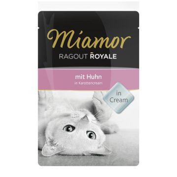 Miamor FB Ragout Royale Huhn in Karottencream 100g (Menge: 22 je Bestelleinheit)