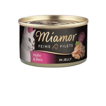 Miamor Dose Feine Filets Huhn & Reis 100g (Menge: 24 je Bestelleinheit)