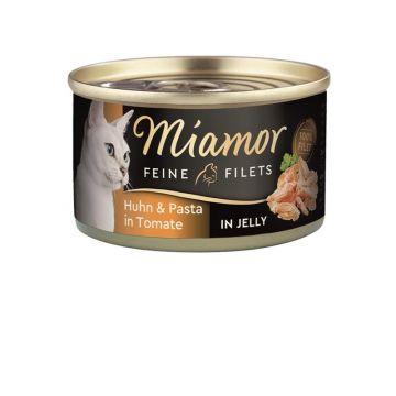 Miamor Dose Feine Filets Huhn & Pasta 100g (Menge: 24 je Bestelleinheit)