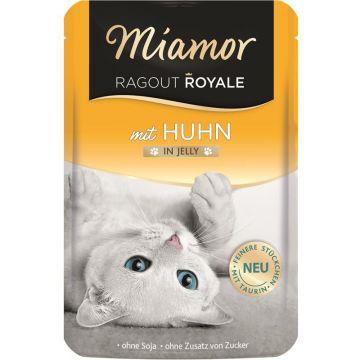 Miamor FB Ragout Royale in Jelly Huhn 100g (Menge: 22 je Bestelleinheit)