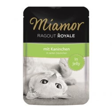 Miamor FB Ragout Royale in Jelly Kaninchen 100g (Menge: 22 je Bestelleinheit)