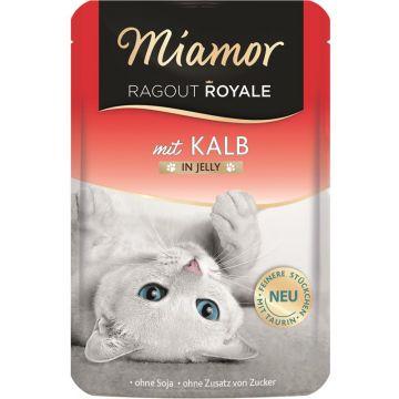 Miamor FB Ragout Royale in Jelly Kalb 100g (Menge: 22 je Bestelleinheit)