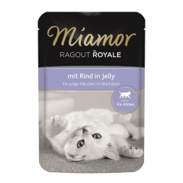 Miamor FB Ragout Royale Kitten mit Rind 100g (Menge: 22 je Bestelleinheit)