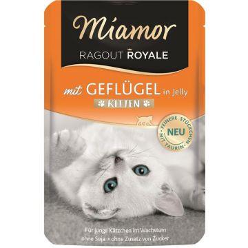 Miamor FB Ragout Royale Kitten mit Geflügel 100g (Menge: 22 je Bestelleinheit)