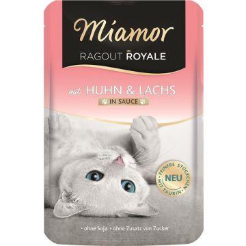 Miamor FB Ragout Royale Huhn & Lachs 100g (Menge: 22 je Bestelleinheit)