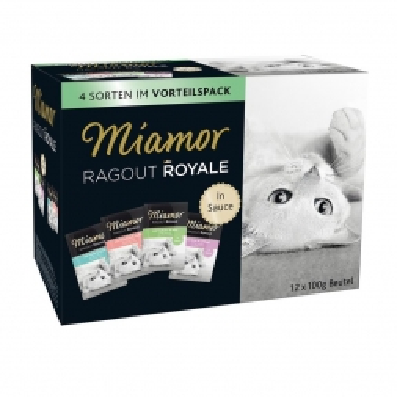 Miamor FB Ragout Royale Multibox in Sauce 12x100g (Menge: 4 je Bestelleinheit)