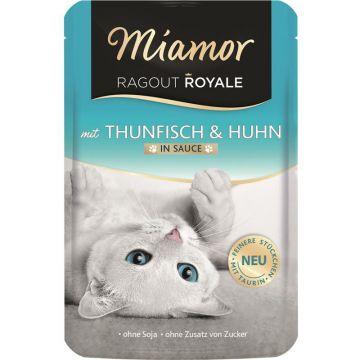 Miamor FB Ragout Royale in Soße Thunfisch & Huhn 100g  (Menge: 22 je Bestelleinheit)