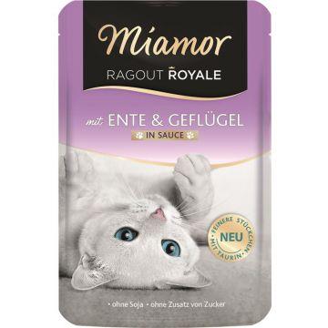 Miamor FB Ragout Royale in Soße Ente & Geflügel 100g (Menge: 22 je Bestelleinheit)