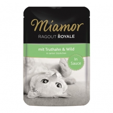 Miamor FB Ragout Royale in Soße Truthahn & Wild 100g (Menge: 22 je Bestelleinheit)